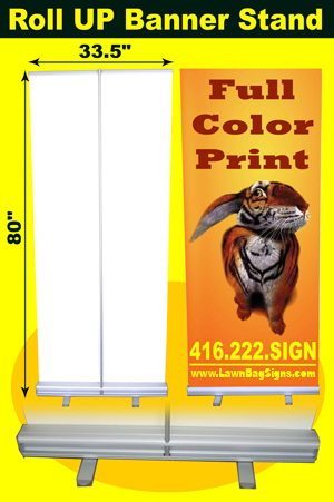 Roll-UP Banner Display