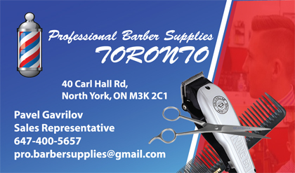 Gallery business card designs lawn yard bag signs in toronto toronto professional barber shop supplies business cards reheart Images