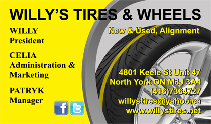 Gallery business card designs lawn yard bag signs in toronto willys tires wheels business cards colourmoves
