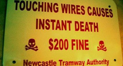 Touching wirses causes instant death penalty $200