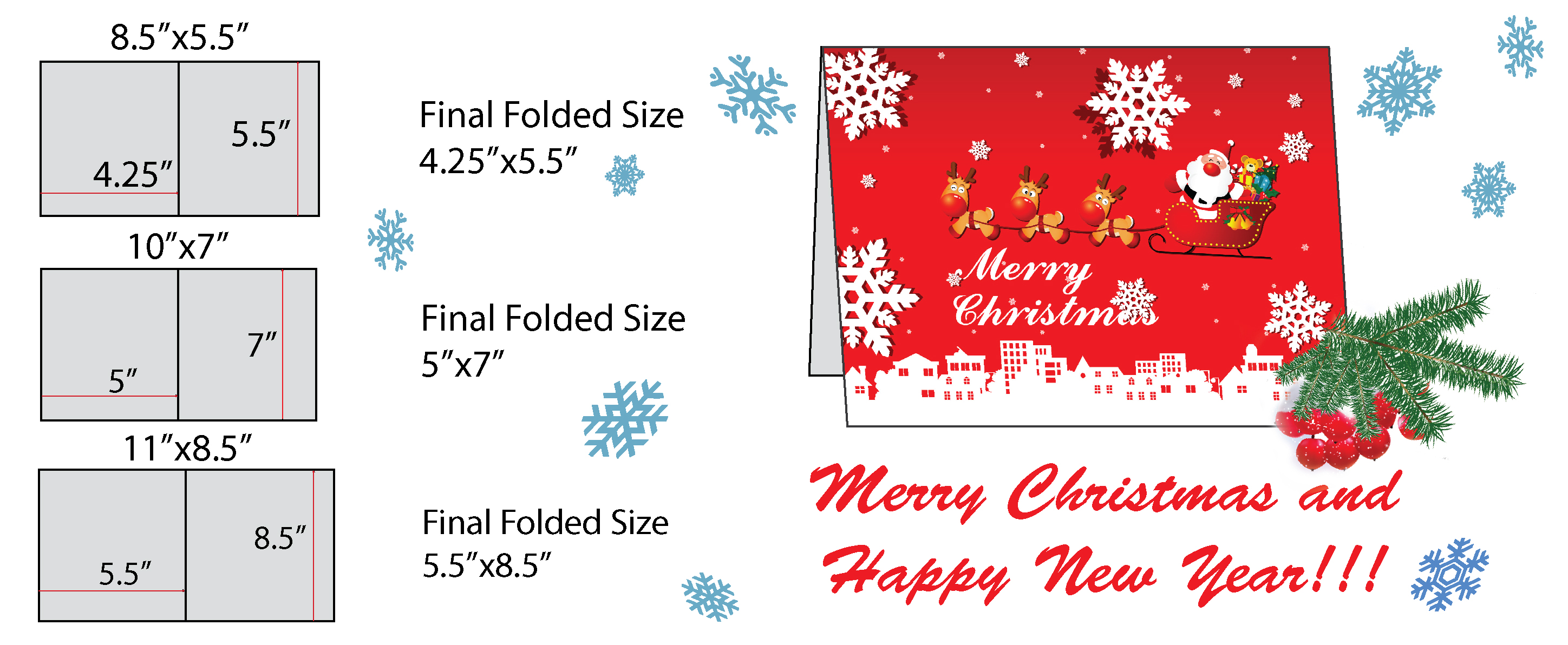Greetings cards in toronto advertising graphic design greeting card finished folded sizes available 10x7 85x11 85x55 m4hsunfo