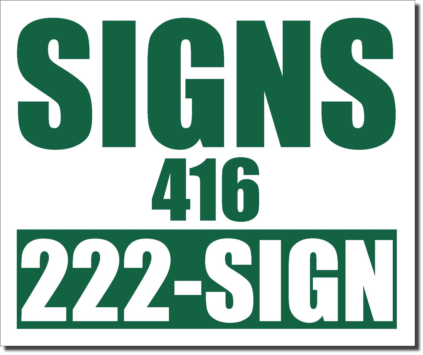 24x20 renegade satin forest green 342c color lawn bag signs print colour - Pictures To Print And Colour In
