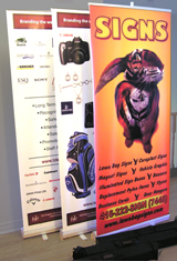 Roll Up banners Assortement