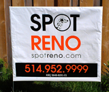 Spot Reno Bag Signs