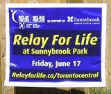 Relay For Life Yard Sign